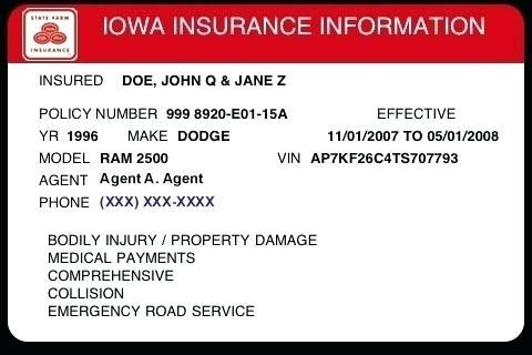 Free Fake Auto Insurance Card Template Telephone Number For Regarding Car Cards Templates Pdf Within Free Fake Card Template Car Insurance Google Business Card