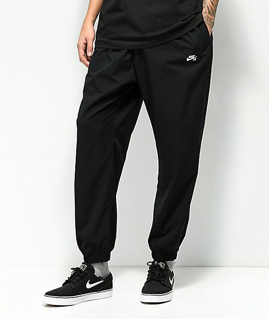 Susurro Sustancialmente infancia  Nike SB Flex Black Track Pants   Pants, Nike sb, Black
