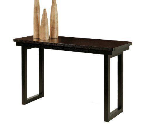 Abbyson living fairhaven espresso sofa table by abbyson for Sofa table 50 inches