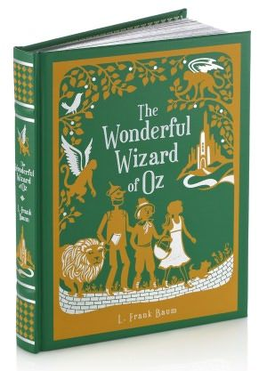 The Wonderful Wizard of Oz (Barnes & Noble Leatherbound Classics). Tommy and I only have like every book that Barnes & Noble printed in leather bound...: