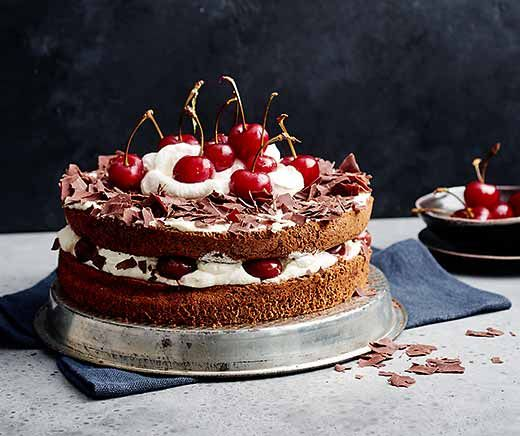 Glutenfrei Betty Bossi Schwarzwalder Torte Glutenfrei Lebensmittel Essen