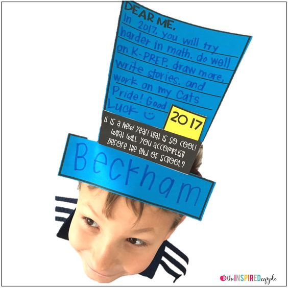 Here's a fun writing craft that's perfect to use after Holiday Break to not only celebrate the New Year, but also to help your students focus on some end-of-the-year goal setting!  It comes with three different options, along with writing paper variations (lined, dotted lined, and unlined). It's great for students in kindergarten, first grade, second grade, third grade, fourth grade, and fifth grade!