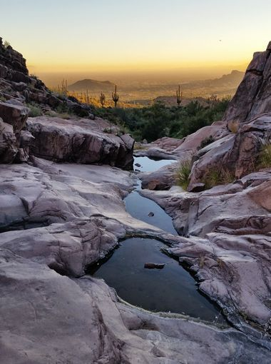 The Hieroglyphic Trail in the Superstition Mountains