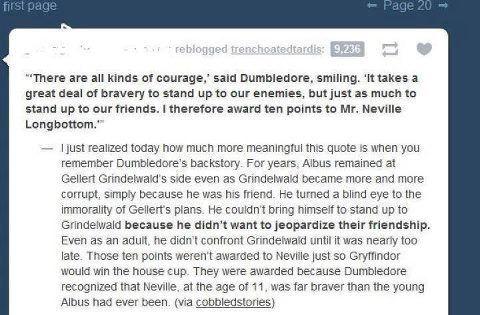 Harry Potter wisdom.