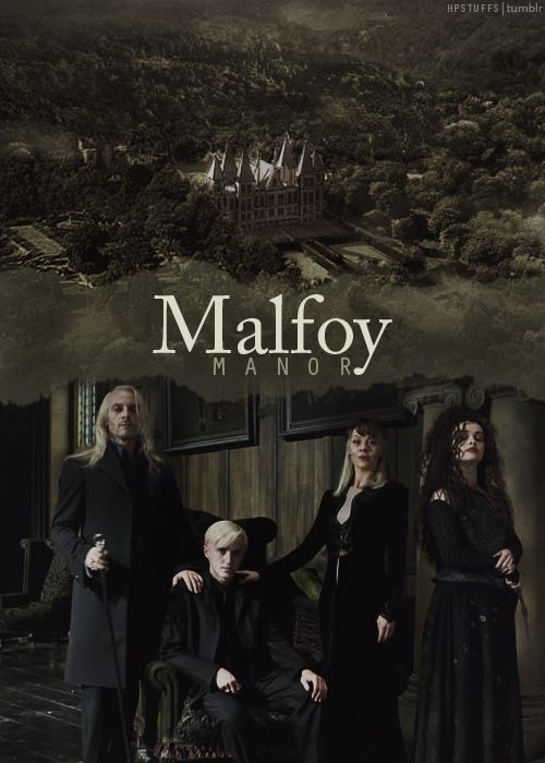 The Malfoys...and Bella. I really love them, I think they make such great subjects of character study because, as opportunistic and ambitious as they are, all three are EXTREMELY loyal to each other.