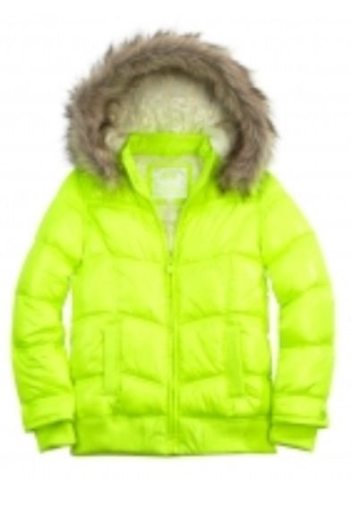 Lime Green Winter Jacket | Justice | Pinterest | Limes Winter