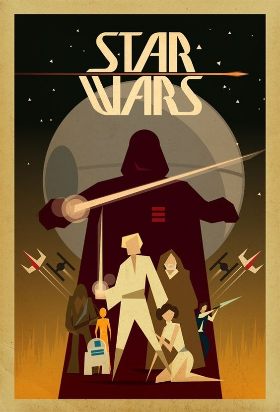 Star Wars Poster Art.