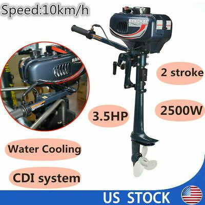 Sponsored Ebay 2 Stroke Outboard Motor 3 5 Hp Engine Fishing Boat Motor Water Cooling System Outboard Motors Outboard Water Cooling
