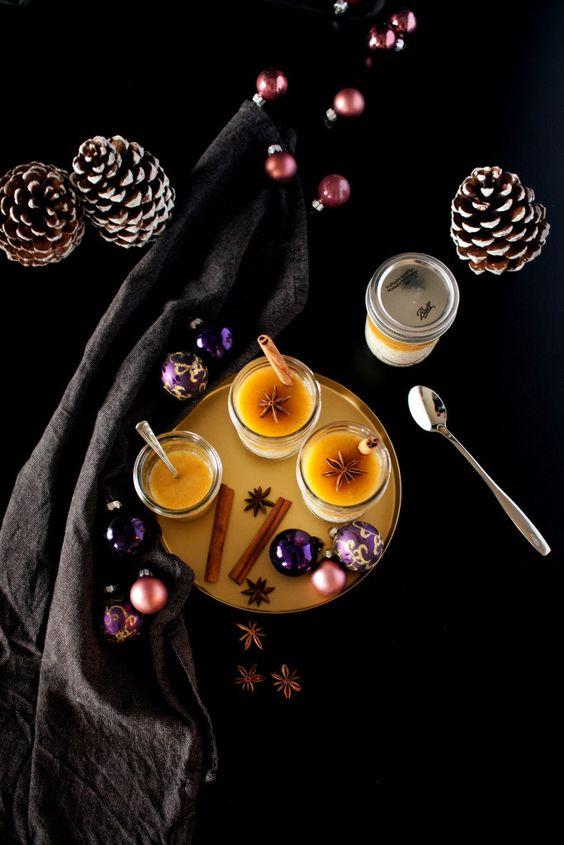 Winter Milchreis mit Orangen Vanille Sauce // Rice Pudding with Vanilla Orange Sauce by http://babyrockmyday.com/winter-milchreis/