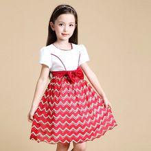 2016 Hot Selling Summer Girls Dress Kids Clothing Children Clothes