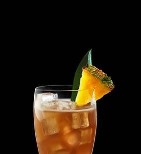 Try mai tai drink using coconut rum, spiced rum, Grand Marnier, lime juice and almond syrup. Check out more Captain Morgan® rum drink recipes.