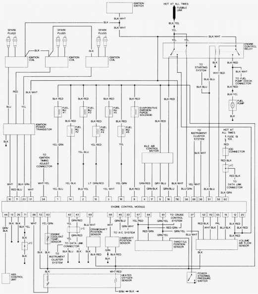 15 mitsubishi pajero wiring schematic engine diagram