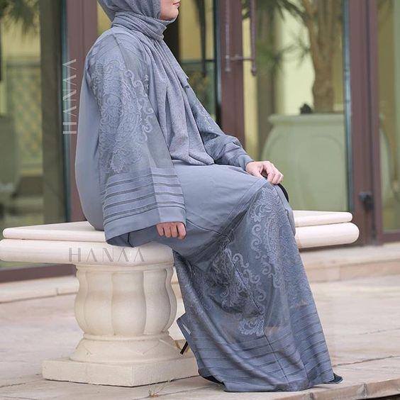 IG: HaanaCollection.co.uk    IG: Beautiifulinblack    Modern Abaya Fashion   