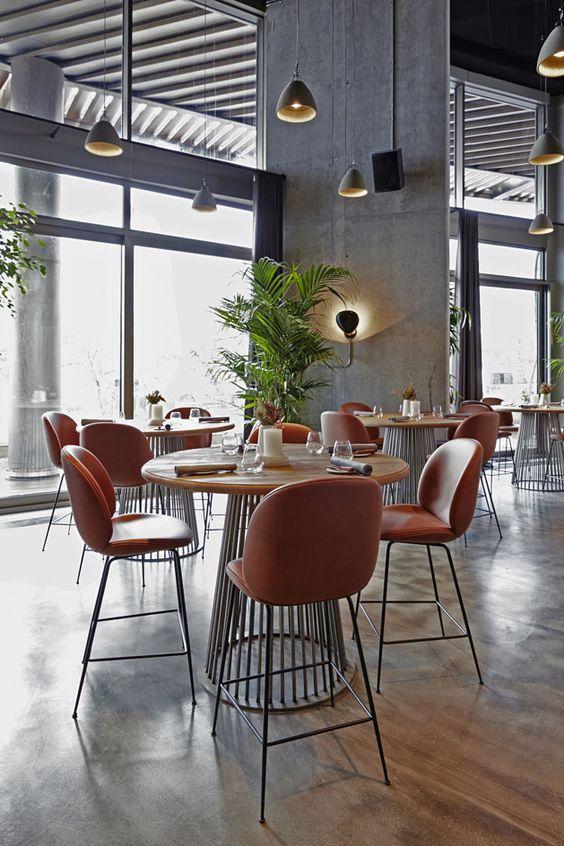 Alancha istanbul turkey restaurant high top tables