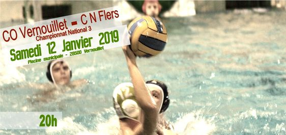 Match water-polo national 3 : CO Vernouillet - CN Flers