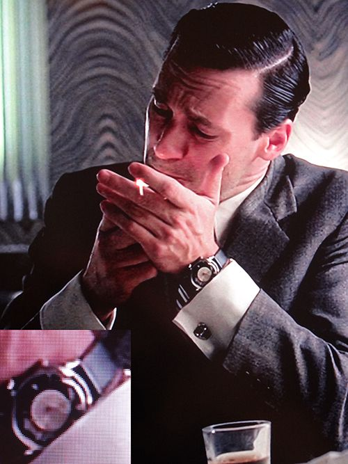 Don Draper wearing watches #Watch #MadMen #DonDraper