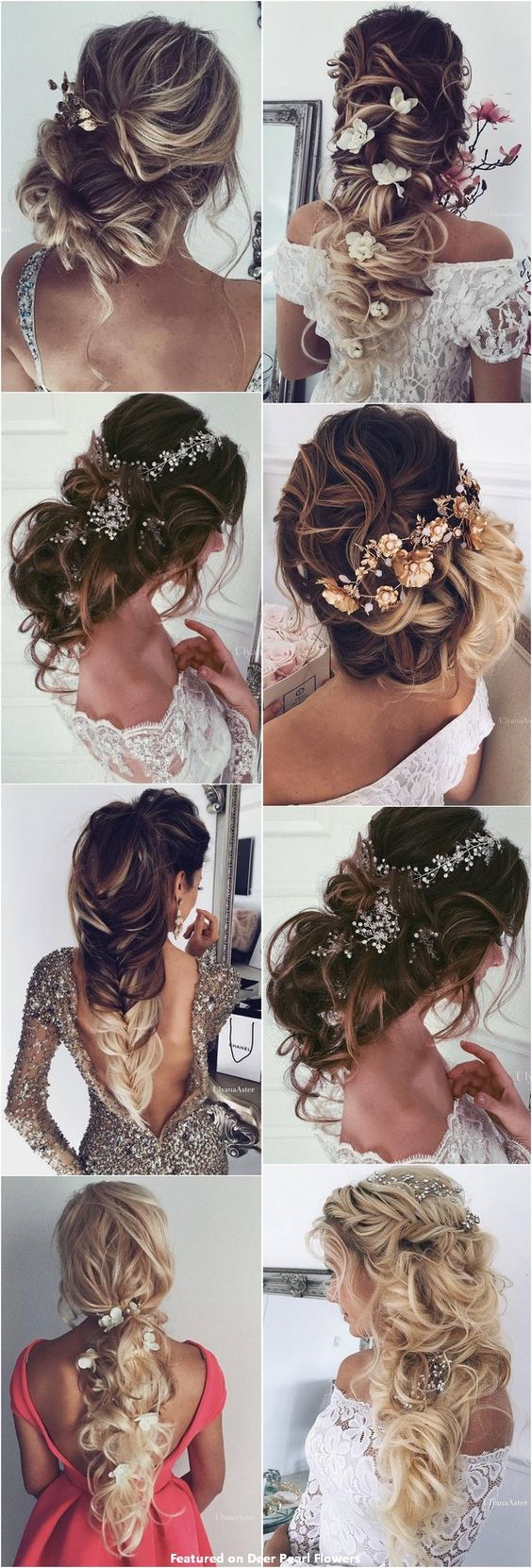65 New Romantic Long Bridal Wedding Hairstyles to Try / Ulyana Aster www.ulyanaaster.com