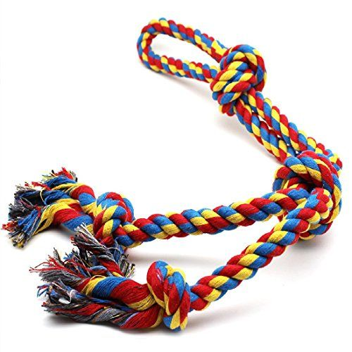 Dog Toys For Large Dogs Rope Aggressive Chewers Indestructible Tug