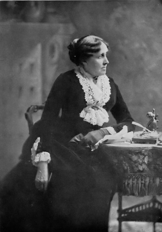 Louisa May Alcott. Not only an inspiration due to her writing, but for her stance as an abolitionist and feminist.: