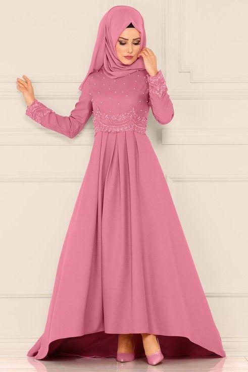 Modaselvim Bugune Ozel Gupuru Incili Peplum Abiye Msw8551 Gul Kurusu Elbise Elbiseler Elbise Modelleri
