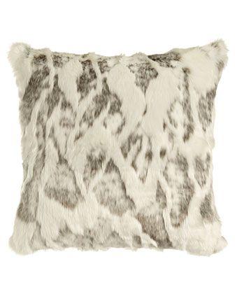 Sweet Dreams Faux-Fur Pillows & Bed Shams
