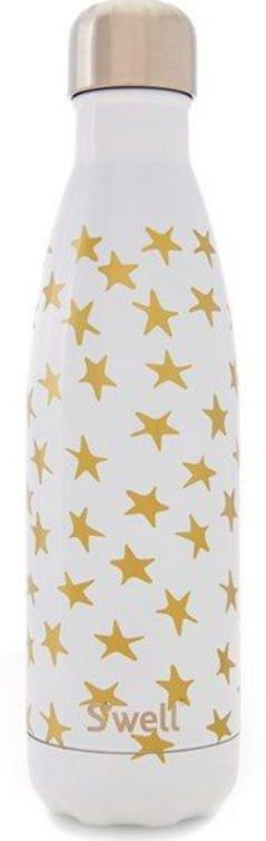 stay hydrated with this cute star printed S'well water bottle