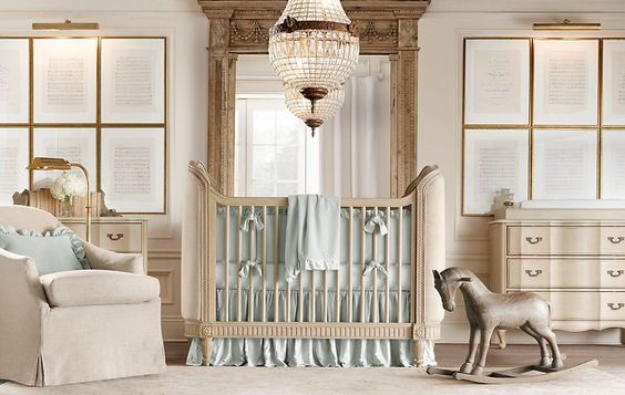 Restoration Hardware nursery