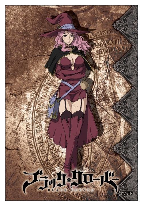 Vanessa Black Clover Anime Black Clover Manga Anime