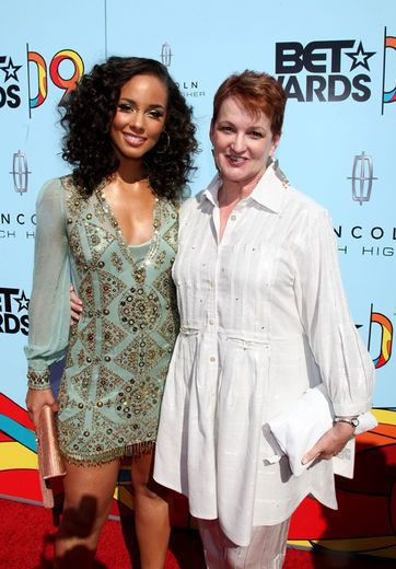 Alicia Keys and Mom Teresa Augelio