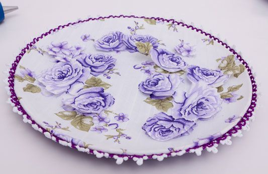 Jogo de pratos decorados - Portal de Artesanato - O melhor site de artesanato com passo a passo gratuito: Wall, The Handmade, Dishes, Lawn De