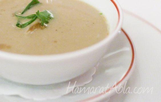 Kremalı Roka Çorbası