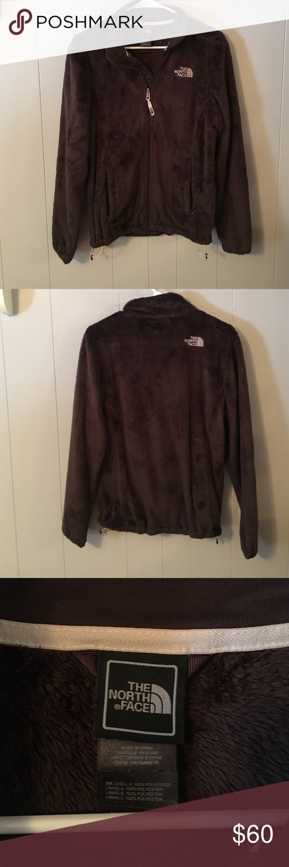 North Face Brown Furry Fleece Jacket North Face Brown Furry Fleece Jacket. Worn 2-3 times. Fantastic condition. The North Face Jackets & Coats
