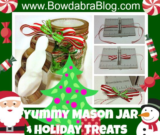 Mason jar holiday treat so cute for christmas gifts for Cute mason jar christmas gift ideas