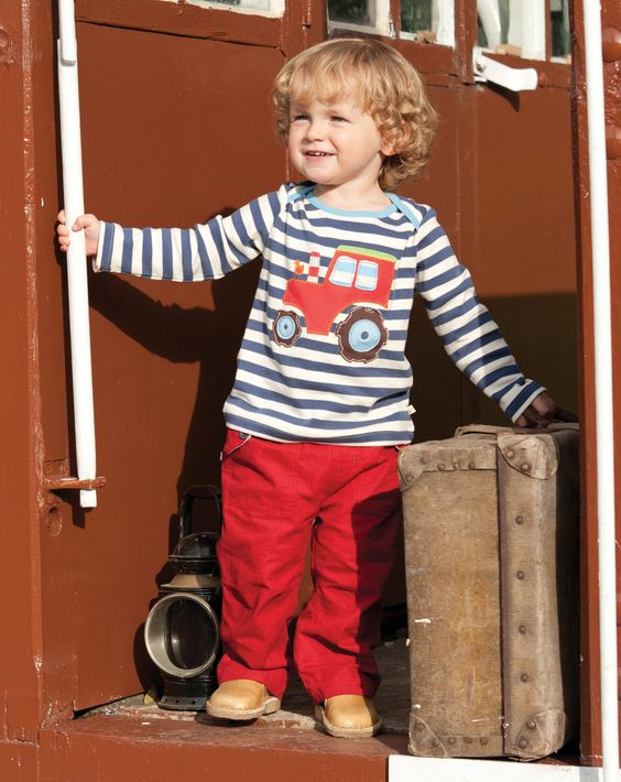 Frugi Tractor Top - Le Loup