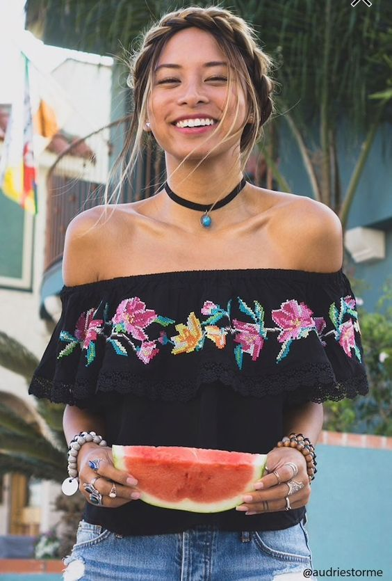 Blusas Para Fiestas Patrias Mexicanas Ropa Para Fiestas