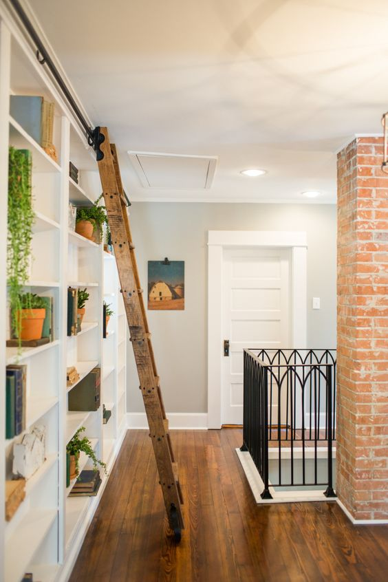 Our favorite hgtv fixer upper interior design moments for Library wall colors
