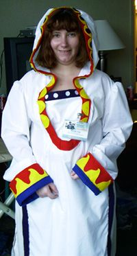 Me as White Mage Yuna from Final Fantasy X-2