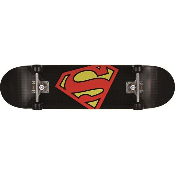 superman skateboards | Home > Skateboard > Skateboards > Skateboard Superman Superlogo