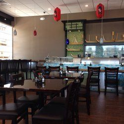 Sakura Grill - Dining room and sushi bar - Haymarket, VA, United States