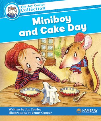 $5.95 Miniboy and Cake Day - Part of the Blue Series: It is cake day in the City of Kitchen. Miniboy wants cake, but Mousie is scared of the Big Foot!
