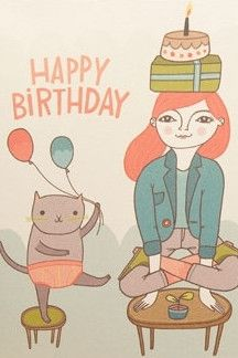 """Red Cap Cards - Handstands? Yoga? Kittens? What could be happier! - Blank Inside (4.25"""" x 5.5"""") - printed with soy inks on 60% tree free recycled paper - Natural brown envelope - Comes in cellophane s"""