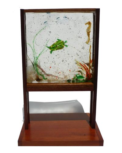 Marcie I. Tauber - Fused Glass Artist - Delaware By Hand
