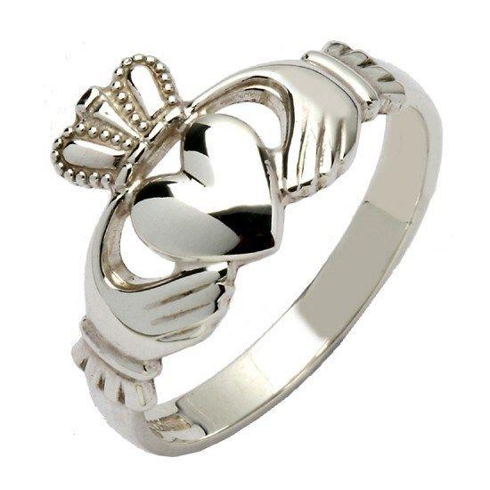 HISTORIA DEL ANILLO CLADDAGH, simbolo de noviazgo, amor o como anillo de…