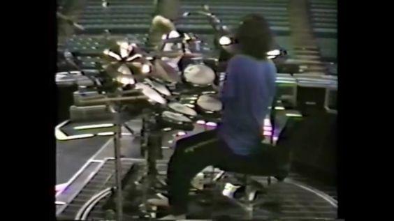 Rick 1988, sound check S.L.City Ut.