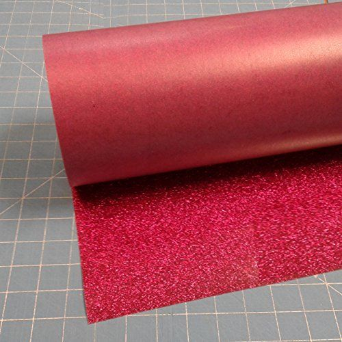 Siser Glitter Hot Pink 20 X 10 Iron On Heat Transfer Vinyl Roll Htv Click Image To Review More Details This Is An Affiliate Lin Glitter Heat Transfer Vinyl