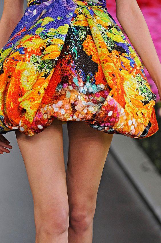 Detalle de vestido de Mary Katrantzou