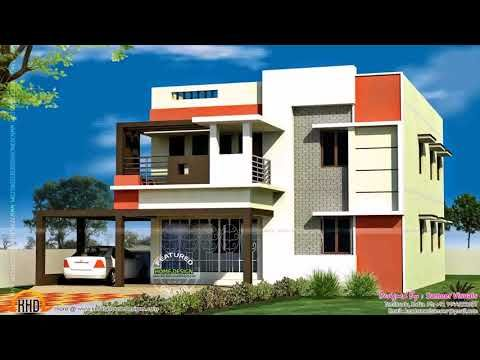 Indian House Front Balcony Design Youtube House Balcony Design House With Balcony House Front Design