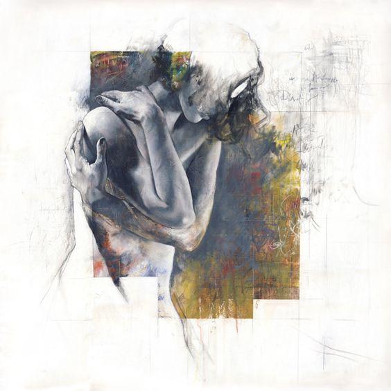 Depicting Raw Emotion Through Powerful Faceless Figures - My Modern Metropolis