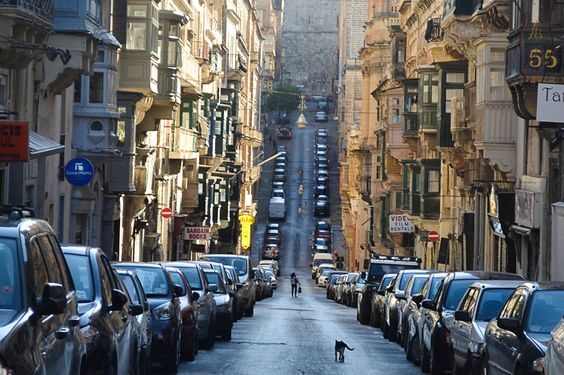 street in Valletta by Helen Green