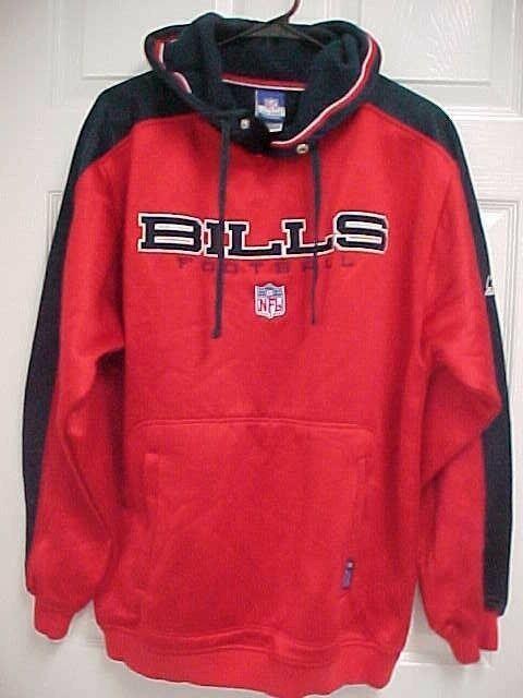 Buffalo Bills Football Pullover Hooded Sweatshirt